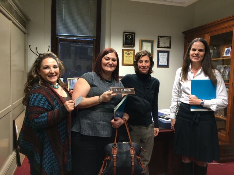 NACM members in Sylvester Turner's office in Austin