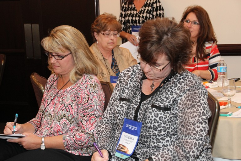NACM Gulf States members at a recent credit conference session