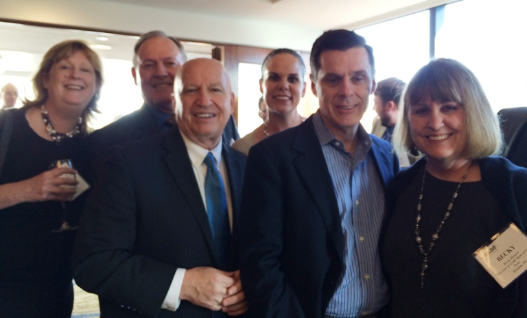 NACM Gulf States with Rep Kevin Brady at his award ceremony